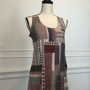SAMPLE SALE  Vocal Sleeveless Top in Multi